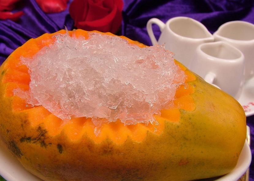 木瓜燉燕窩