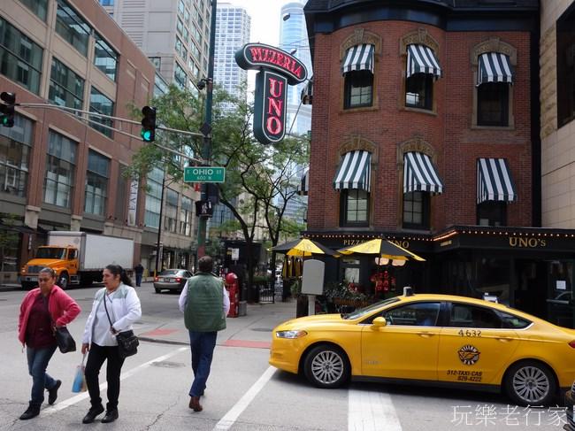 【美國,芝加哥】Chicago密西根湖畔的藝術風城:飲食篇Uno Pizza/中國城日本拉麵