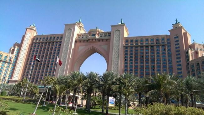 【阿拉伯聯合大公國 杜拜 】人工棕櫚島上超五星級美麗宮殿-亞特蘭提斯飯店